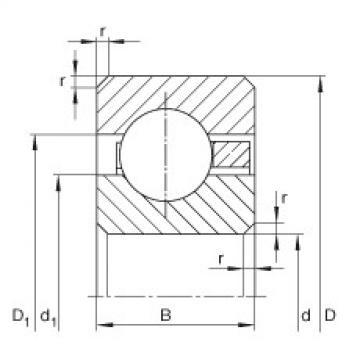 Bearing CSCF075 INA