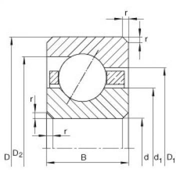 Bearing CSEF075 INA