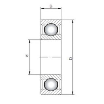 Bearing 63801 ISO