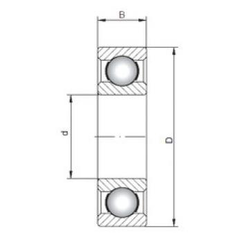Bearing 63803 ISO