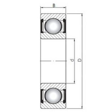 Bearing 63801 ZZ ISO