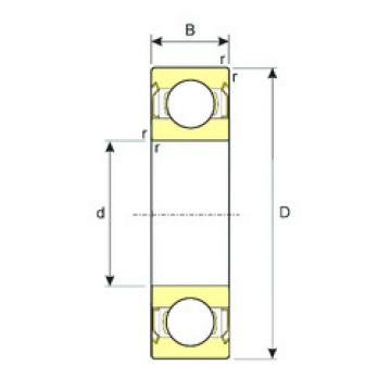 Bearing 63801-ZZ ISB