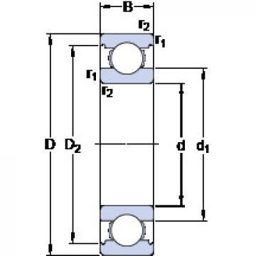 Bearing D/W SRI-1212 SKF