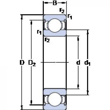 Bearing D/W R1-2Z SKF