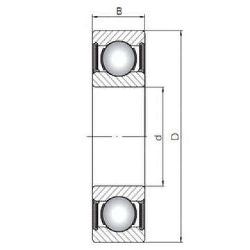 Bearing 63800-2RS ISO