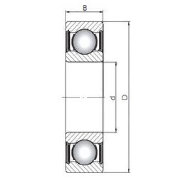Bearing 63803-2RS CX