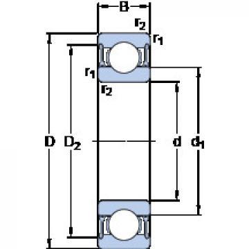 Bearing D/W R12-2RZ SKF