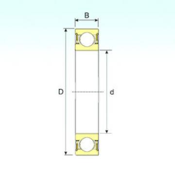 Bearing 638-2RZ ISB