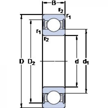 Bearing D/W R12-2RS1 SKF
