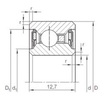 Bearing CSCU 055.2RS INA
