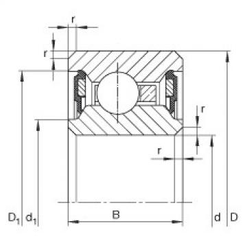 Bearing CSCU040-2RS INA