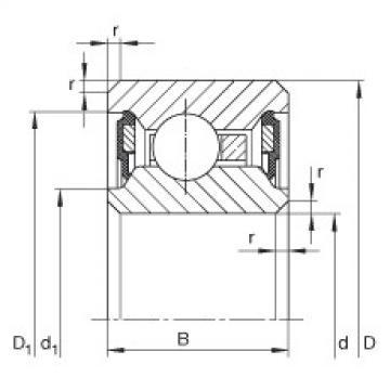 Bearing CSCU065-2RS INA