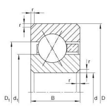 Bearing CSXB025 INA