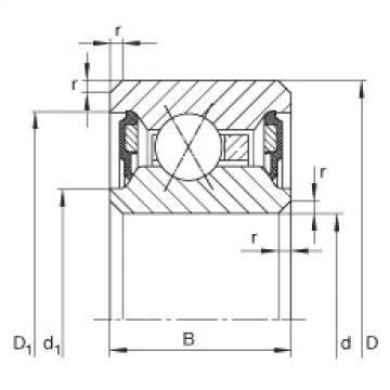 Bearing CSXU075-2RS INA