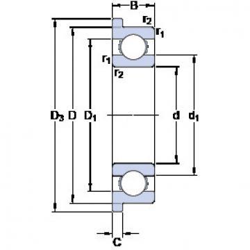 Bearing D/W R8 R SKF
