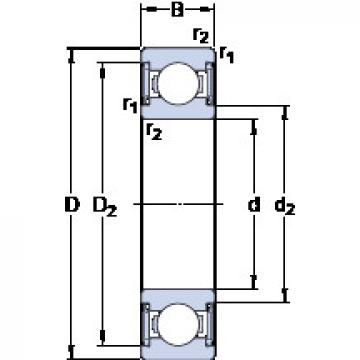 Bearing D/W R8-2RS1 SKF