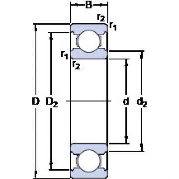 Bearing D/W R1810 SKF