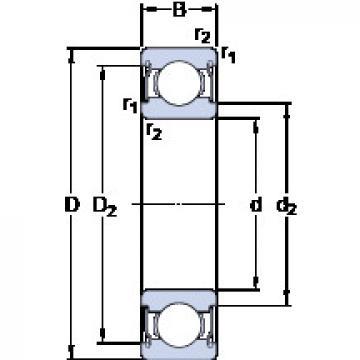 Bearing D/W R1810-2ZS SKF