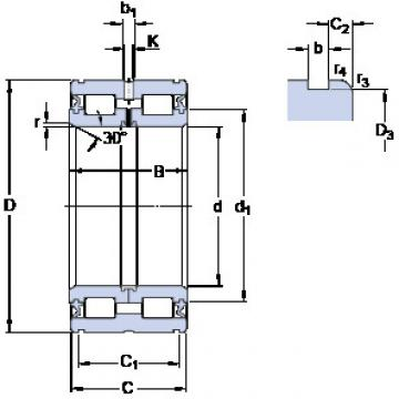 Bearing NNF 5012 ADB-2LSV SKF