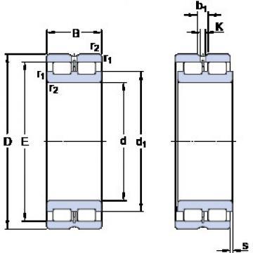 Bearing NNCL 4876 CV SKF