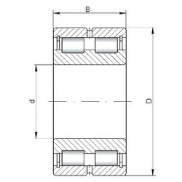 Bearing NNCL4872 V ISO