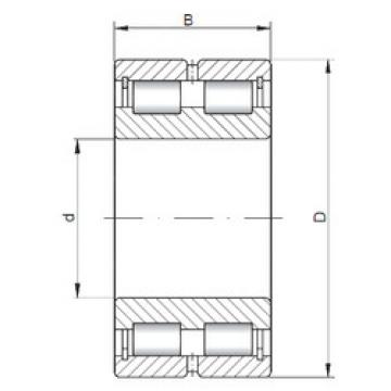 Bearing NNCL4876 V ISO