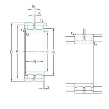 Bearing NNCL4980CV SKF