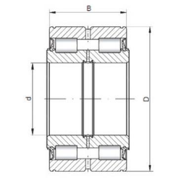 Bearing NNF5017 V ISO