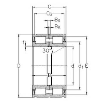 Bearing NNF5014-2LS-V NKE