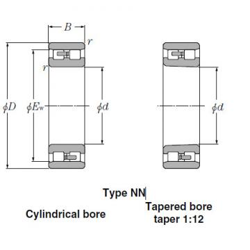 Bearings Cylindrical Roller Bearings NNU4964