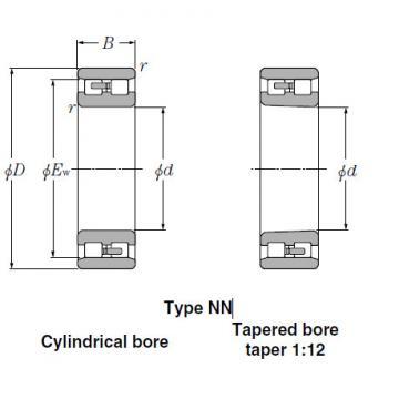 Bearings Tapered Roller Bearings NN3960K